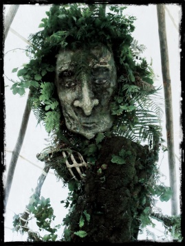 The 'Green Man', Westcountry Storytelling Festival, 2012