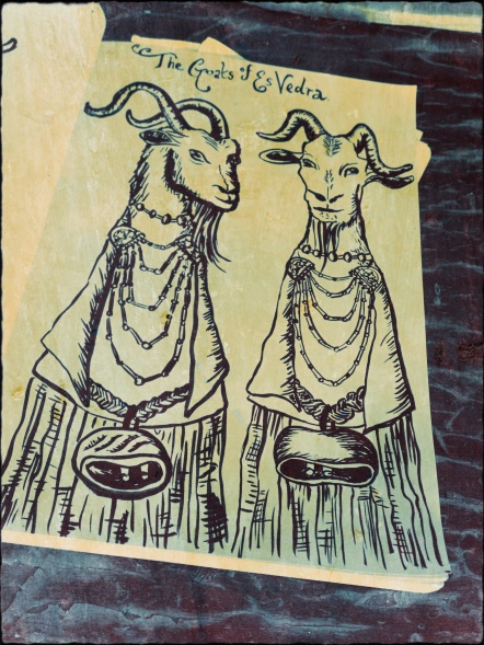 goat puppets